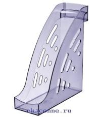 Подставка вертикальная Торнадо тонированная голубая ЛТ404